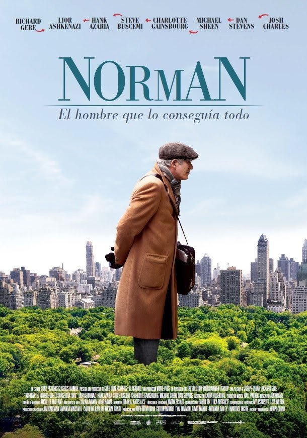"Plakat von ""Norman: The Moderate Rise and Tragic Fall of a New York Fixer"""