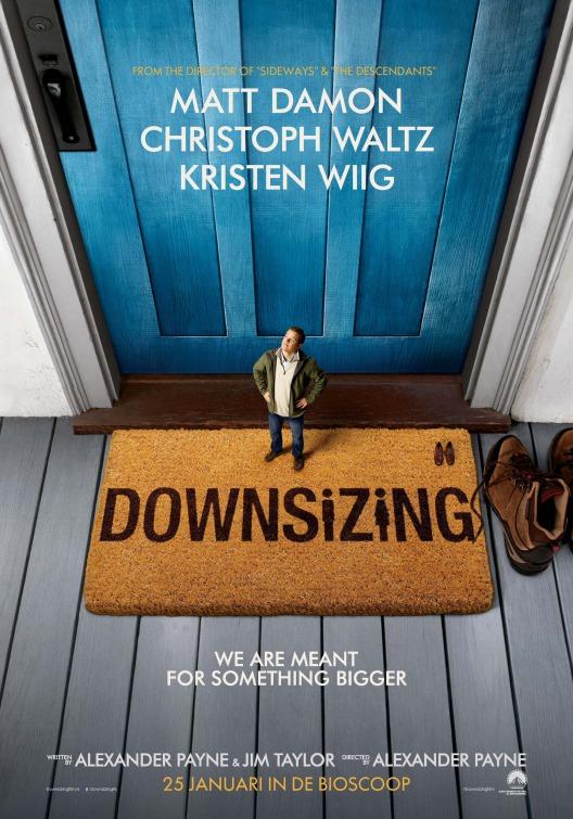 """Plakat von """"Downsizing"""""""