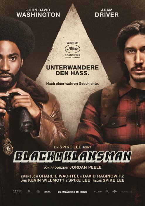 blackkklansman-filmposter