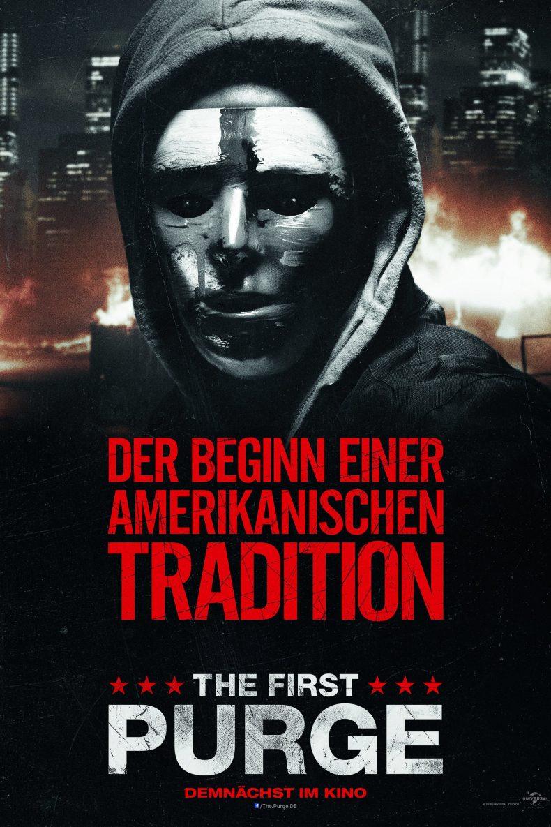"""Plakat von """"The First Purge"""""""